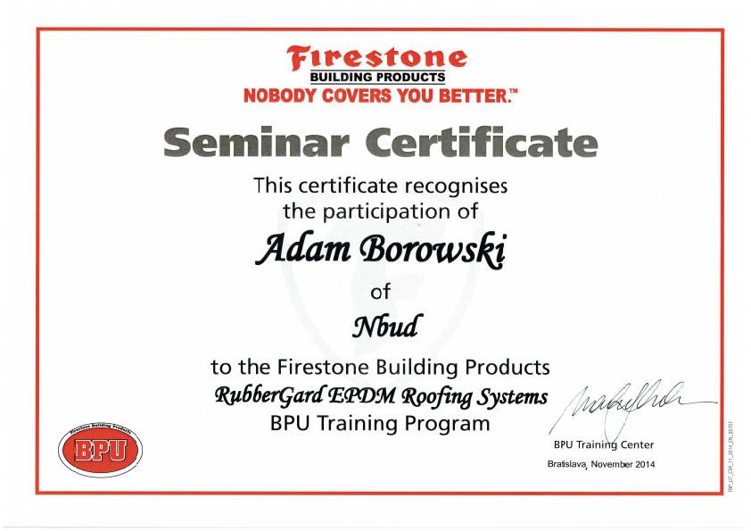 Szkolenie EPDM 2014